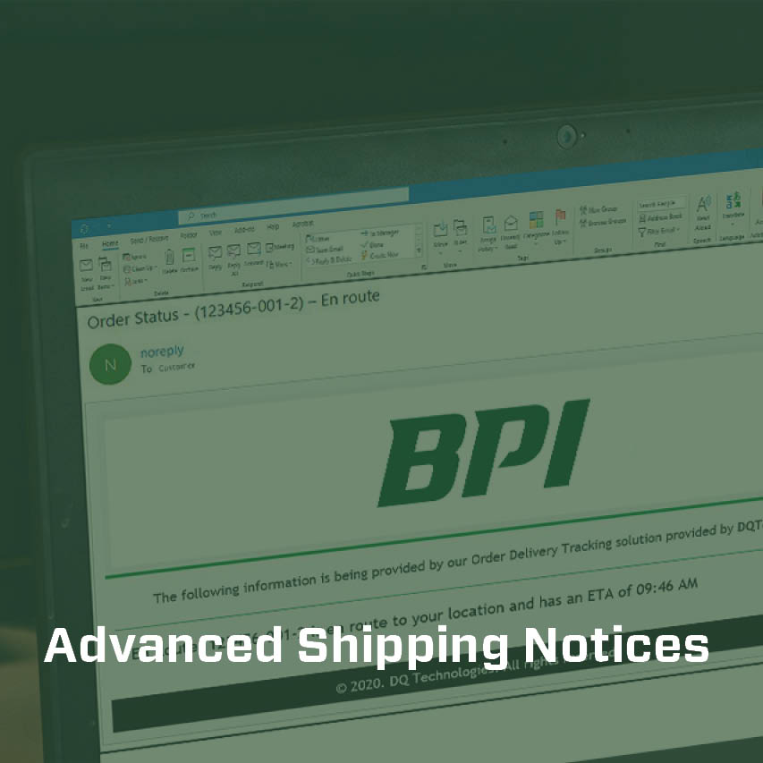 Advanced Shipping Notices